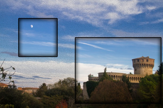 Volterra Prison with Moon
